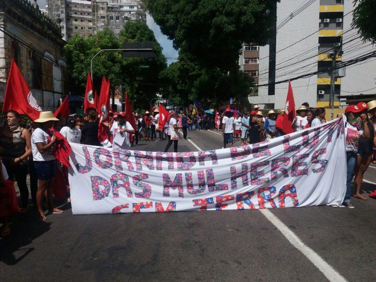 Mulheres do Pará se mobilizam durante Jornada Nacional de Lutas
