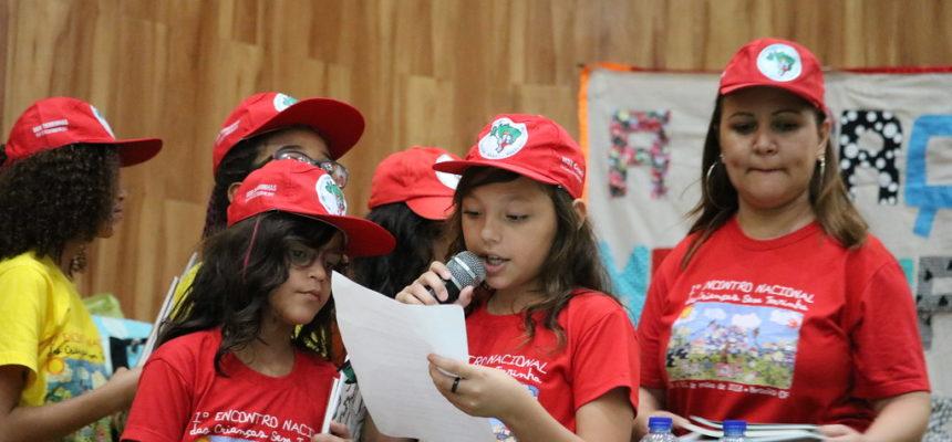 No Ceará, participação das crianças Sem Terra encerra VI JURA