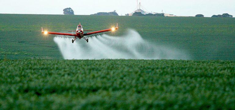Uso intenso de agrotóxicos contamina águas