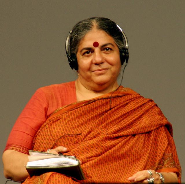 """Vandana Shiva: """"A comida é o maior problema de saúde no mundo"""""""
