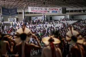 Acampamento de luta pela água do FAMA se inicia em Brasília