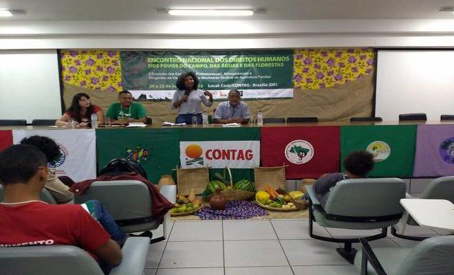 Em Brasília, encontro discute direitos humanos dos povos do campo, das águas e das florestas