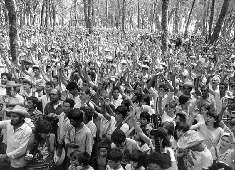 Mais de 7 mil trabalhadores ocuparam a Annoni, em 1985, um latifúndio improdutivo - Foto Daniel Andrade.jpg