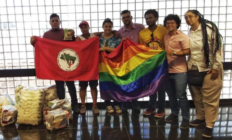 Sem Terra soma-se ao mutirão de solidariedade para população LGBT do DF e Entorno