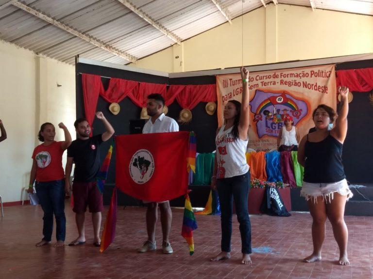3ª Turma do Curso de Formação Política para LGBTs Sem Terra ocorre em Fortaleza