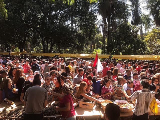 agroecologia e educação unem campo e cidade nas ruas de Belo Horizonte