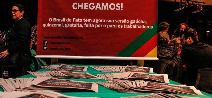 Brasil de Fato volta ao RS, resgata utopias e se propõe como ferramenta na luta de narrativas
