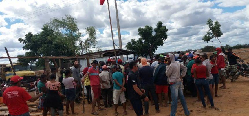 MST de Pernambuco reocupa áreas do Pontal Sul, em Petrolina, no Sertão do São Francisco