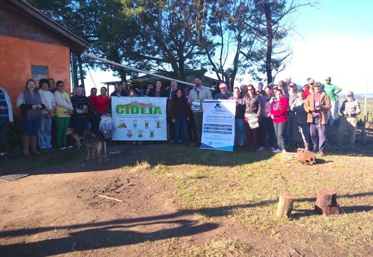 Famílias Sem Terra são beneficiadas com cisternas na região da Campanha gaúcha