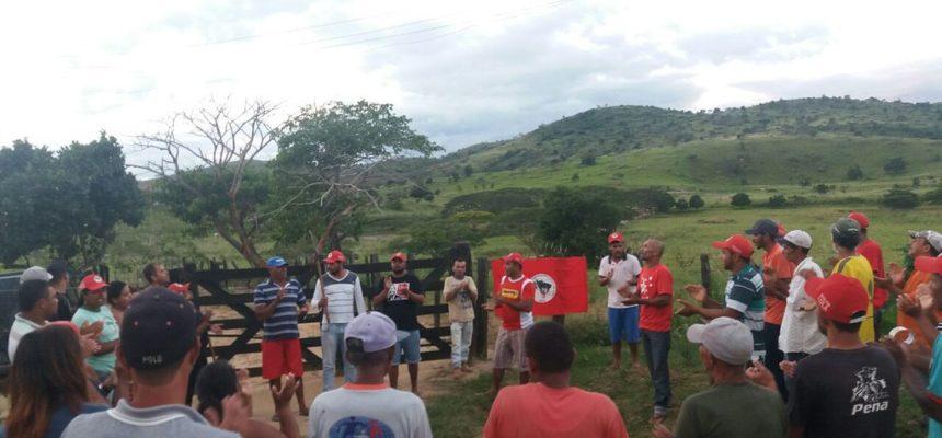 Latifúndio de Geddel agora é acampamento Lula Livre, no Sudoeste da Bahia