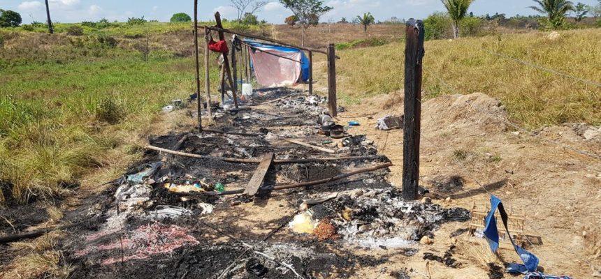 Nota em repúdio à violência e em solidariedade aos trabalhadores Sem Terra do Acampamento Hugo Chavéz