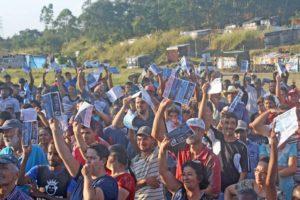 Boletim informativo é lançado no acampamento Marielle Vive! em São Paulo