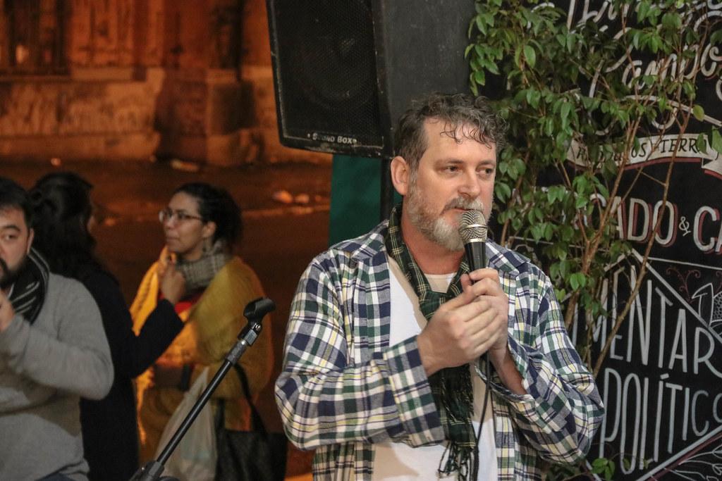 Ademar Ludwig, da coordenação política do Armazém..jpg