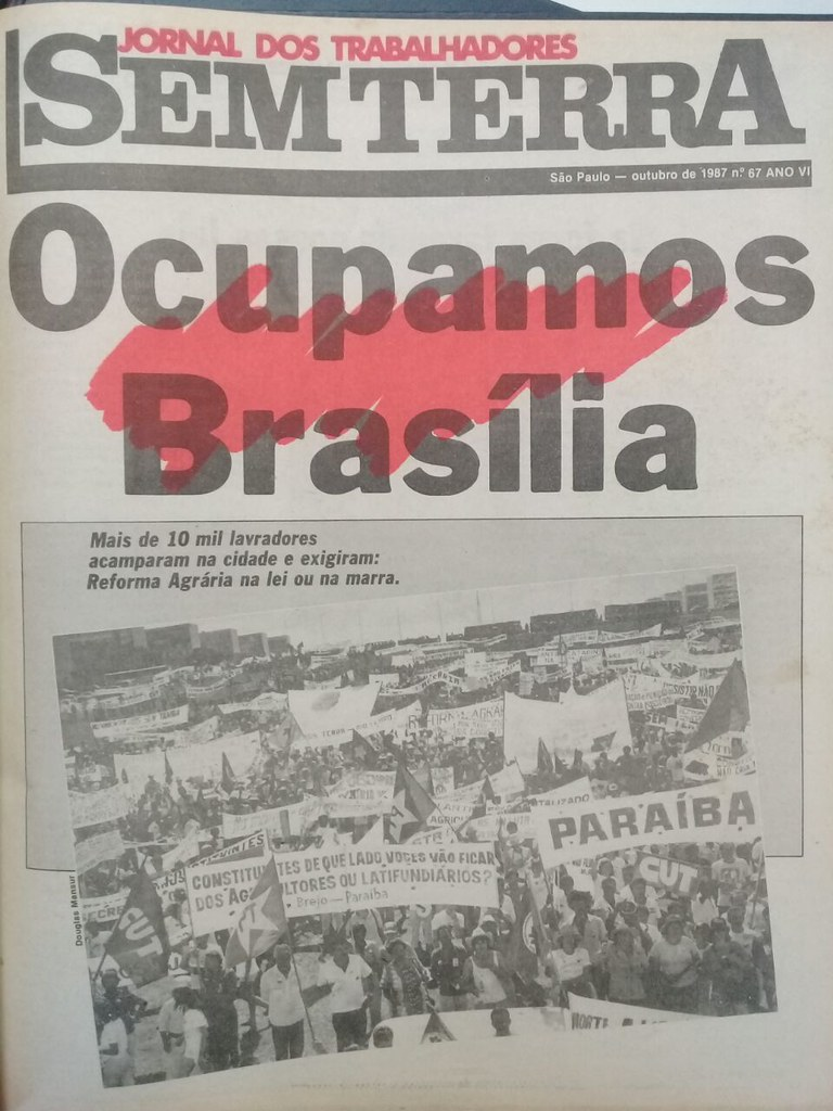 Há 38 anos nascia o Jornal Sem Terra