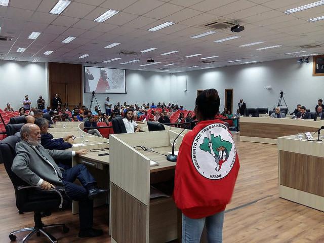Sem Terras vão à Câmara de Macaé para pedir área do município
