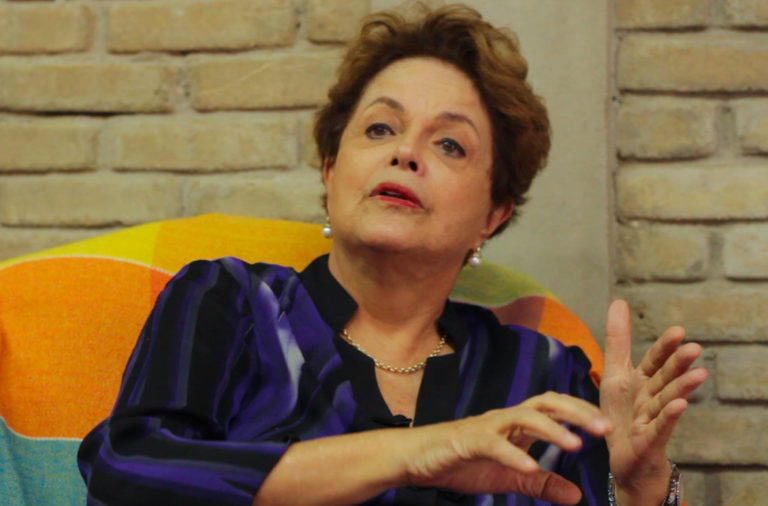 Dilma visita ENFF e ressalta o papel dos movimentos populares para 2018