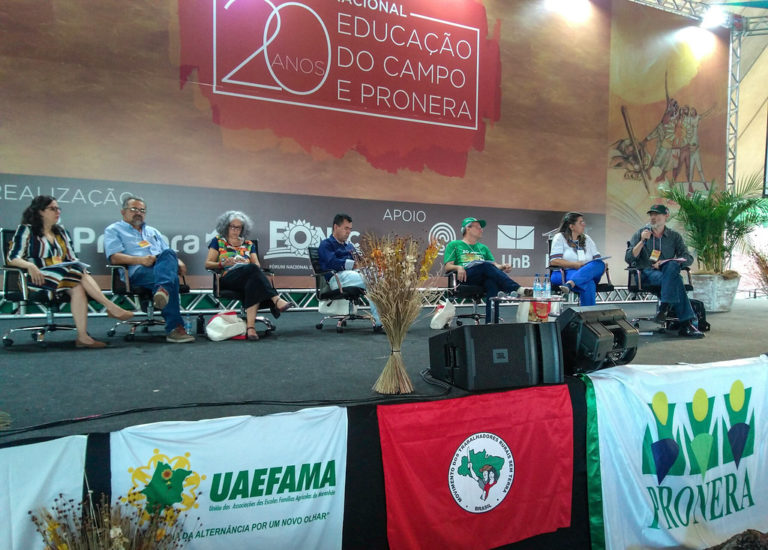 encontro nacional celebra os 20 anos do Pronera