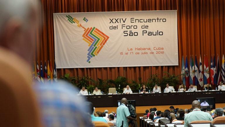unidade e diálogo: três chaves para o 24º Encontro do Fórum de São Paulo