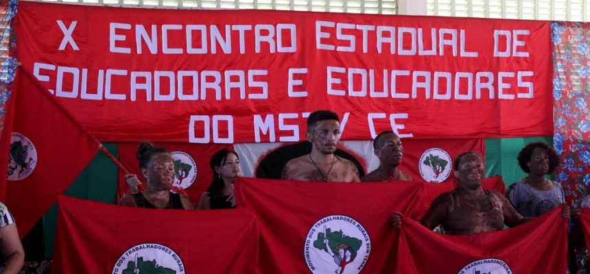 Ceará realiza a 10° edição do Encontro Estadual de Educadores e Educadoras do MST