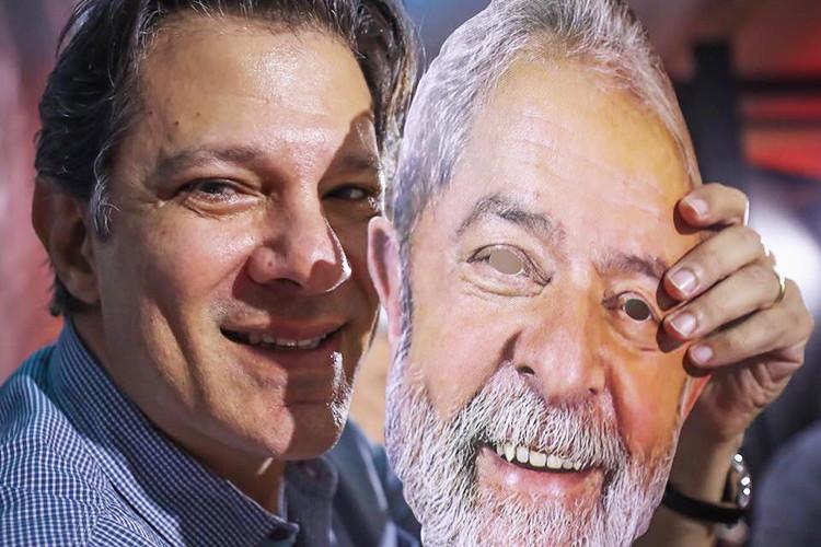 Lula transfere sua candidatura para Haddad