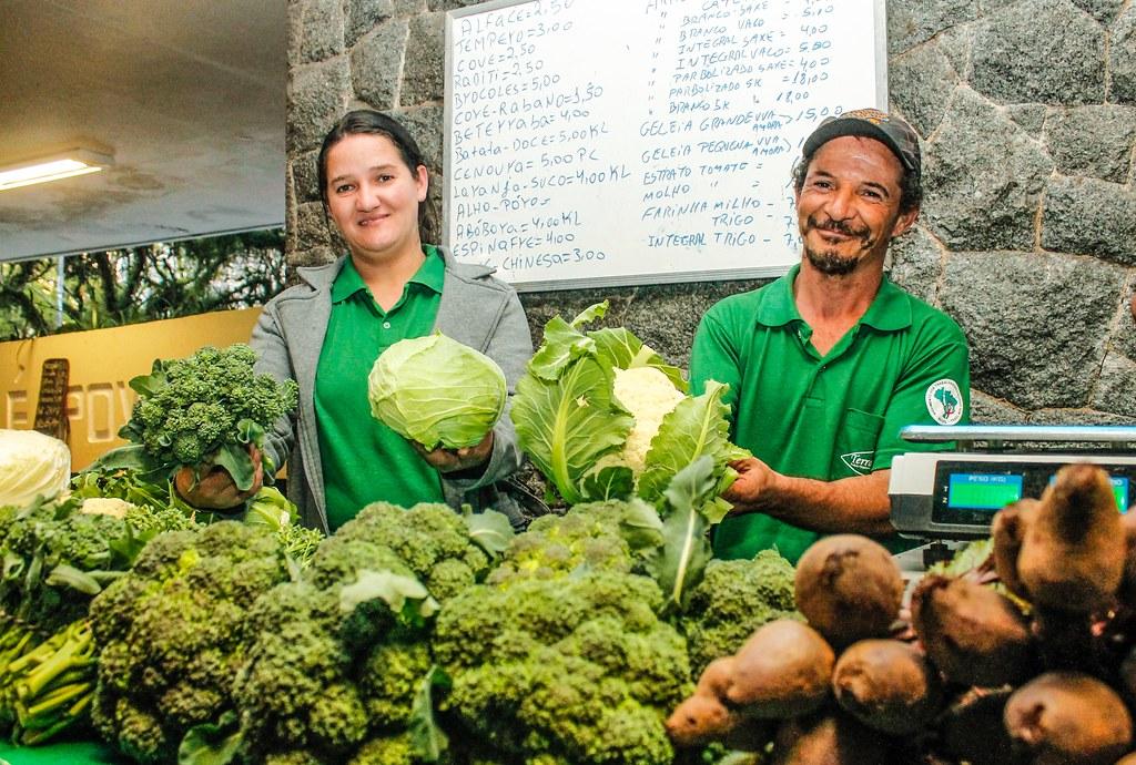 As Feiras Ecológicas são ótimas opções para quem quer economia no bolso. Foto Leandro Molina.jpg