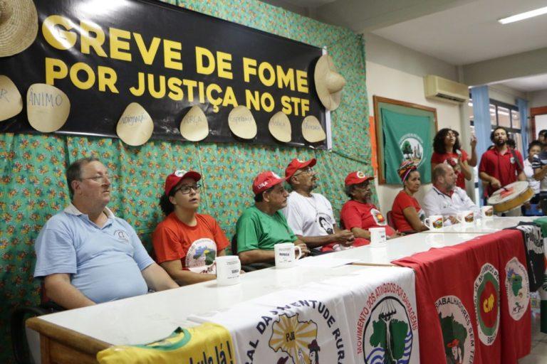 Grevistas de fome vão ao STF solicitar audiências com ministros