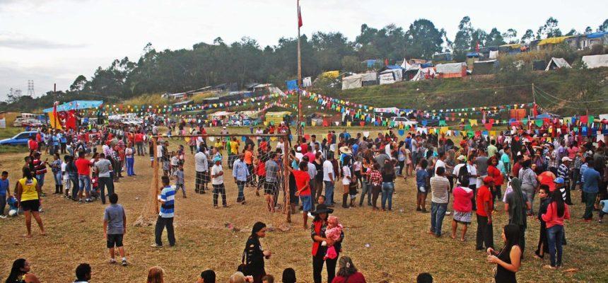 Acampamento Marielle Vive! festeja São João com um grande arraiá de luta.