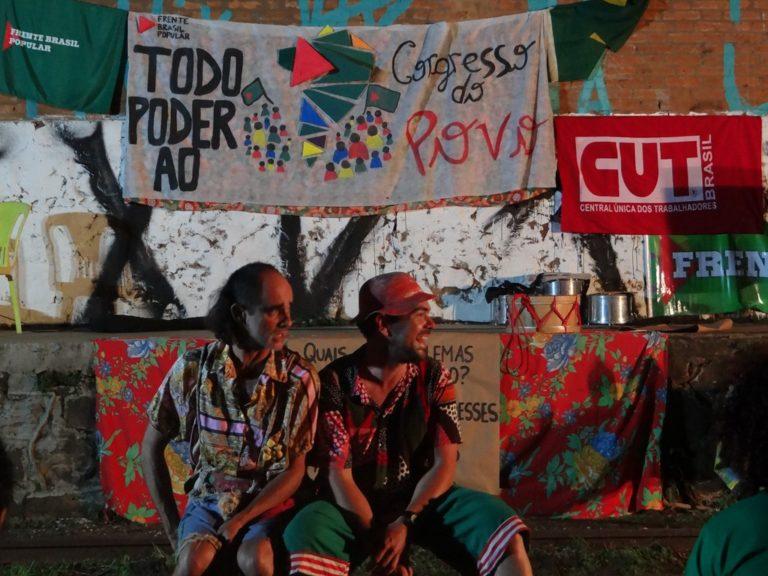 Debate político através da arte é parte da primeira etapa do Congresso do Povo em Presidente Prudente