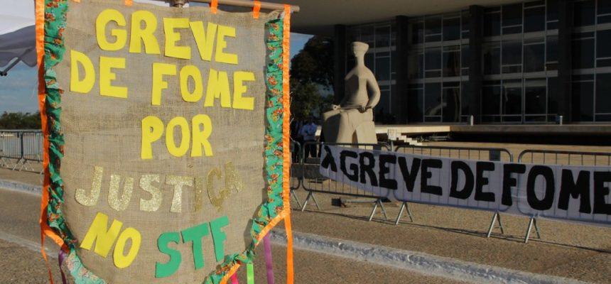 A greve de fome é prática dos moralmente grandes