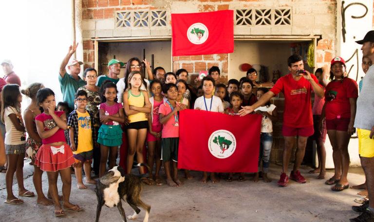 Acampamento Arcanjo Berlaminio comemora um ano de resistência na Paraíba