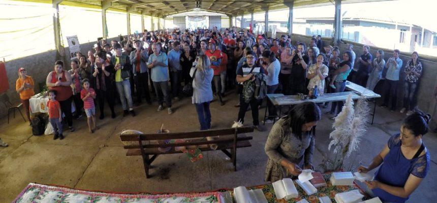 Acampamento Maria Rosa do Contestado realiza 1ª Feira da Semente Crioula, no Paraná