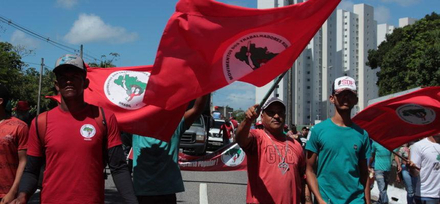 MST realiza Jornada Nacional com duas ocupações e marcha, na Paraíba