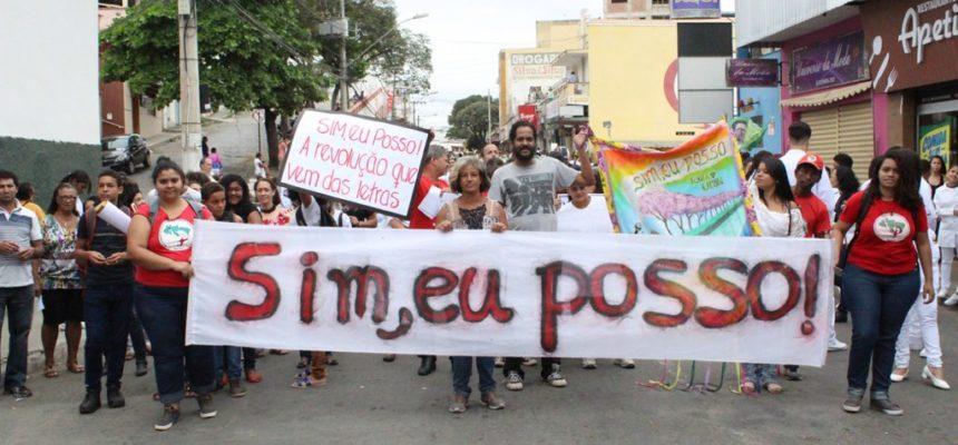 Jornada Mineira de alfabetização participa do 24º Grito dos Excluídos em Minas Gerais