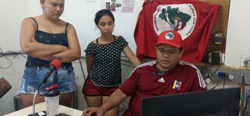 No Ceará, MST ocupa mais um latifúndio do ar