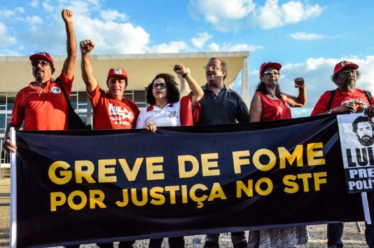 movimentos populares dão início a Greve de Fome em Brasília