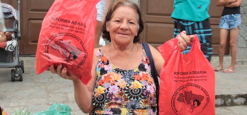 Na Paraíba, MST realiza Campanha de Solidariedade Entre o Campo e a Cidade