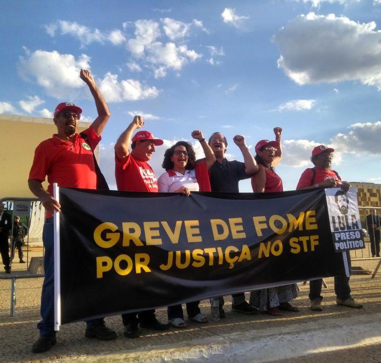 Brasília: 2º dia da greve de fome por justiça no STF