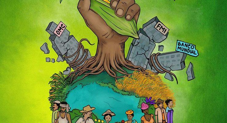 Via Campesina realiza Dia Internacional de luta contra a OMC e os Tratados de Livre Comércio