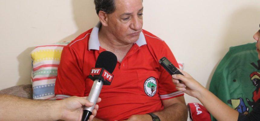 Jaime Amorim: greve de fome em nome da esperança