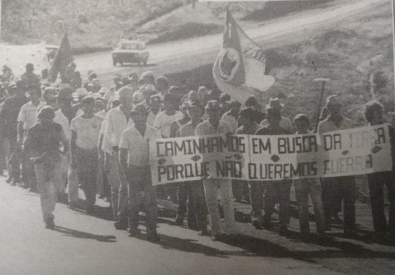 Marchas em busca de direitos marcam vidas de Sem Terra