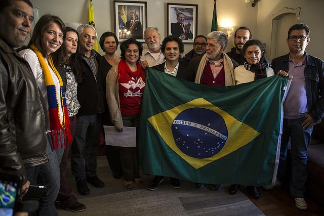 Movimentos populares reafirmam compromisso com a paz na Venezuela
