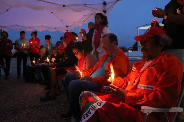 17º Dia da Greve de Fome por justiça: grevistas seguem convictos