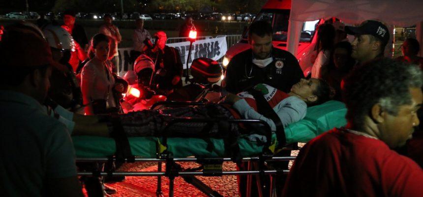 Grevista de fome passa mal durante ato inter-religioso em frente ao STF