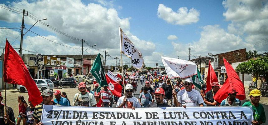 Sem Terra relembram os 13 anos do assassinato de liderança do MST durante dia de luta em Alagoas