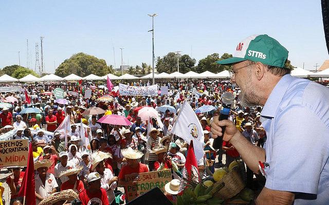 Ato pela democracia movimenta o Semiárido brasileiro