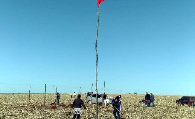 Acampamento Izael Fagundes volta a ocupar a fazenda Lageado em Itaporanga