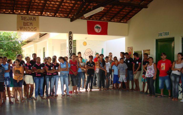 Piauí: Escola do MST no obtém maior índice do município no Ideb