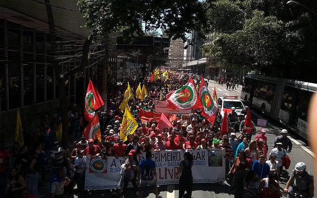 Grito dos Excluídos denuncia violência, custo de vida e prisão política de Lula