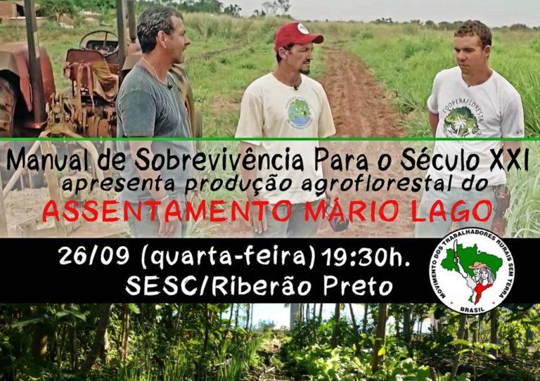 documentário apresenta experiência agroflorestal no assentamento Mário Lago