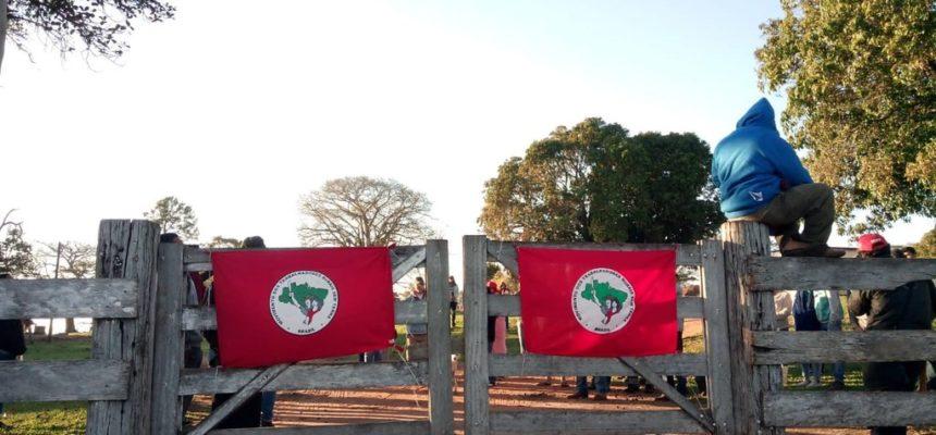 Ocupação da Fazenda Rio Vermelho tem despejo iminente
